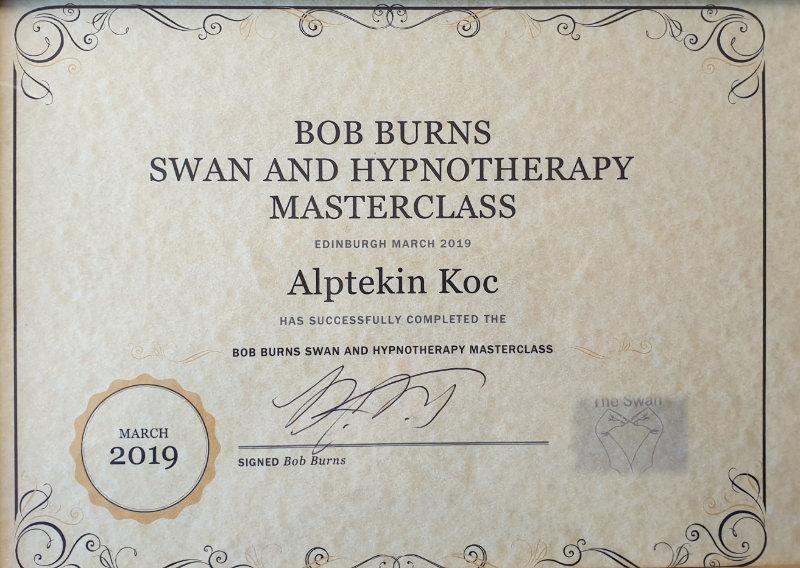 Bob Burns Zeugnis Hypnotherapy Masterclass
